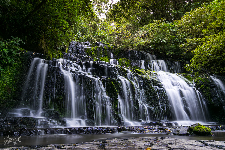 La cascade Purakaunui Falls