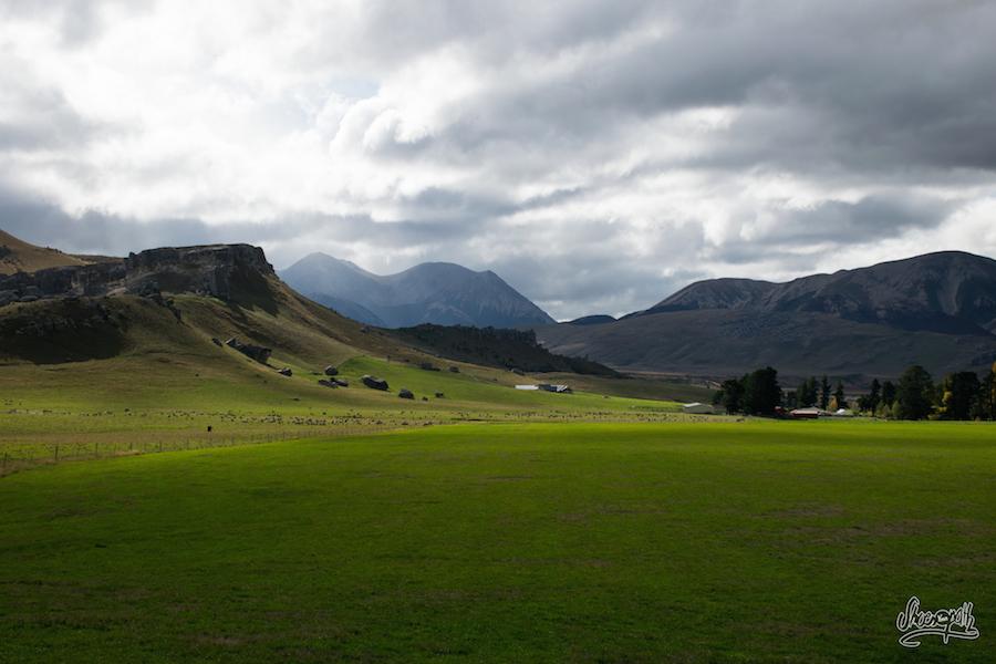 La Plaine Devant Castle Hill (Photo Par Mariette)