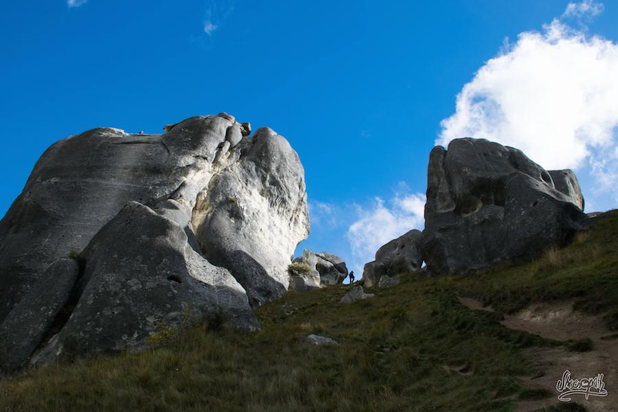 Et hop un peu de grimpette (Photo par Mariette)