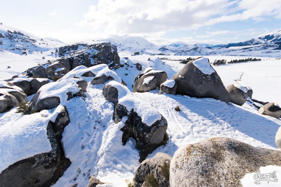 Et La Vue Du Sommet De Castle Hill Vaut Bien Le Coup ! Surtout Lorsque Le Paysage Est Couvert De Neige