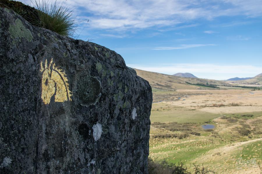 Une trace des cavaliers du Rohan... (Photo par Mariette)
