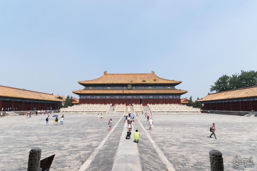 Le Temple Du Sacrifice Dans Le Complexe Des Temples Des Ancêtres Impériaux