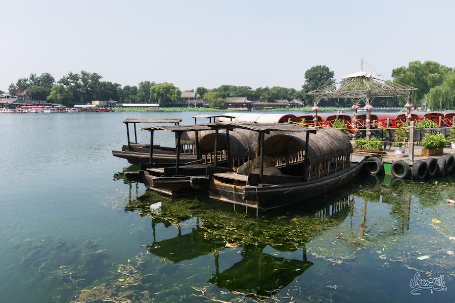 Le Paisible Lac De Quianhai Havre De Paix Au Centre De La Mégapole De Pékin