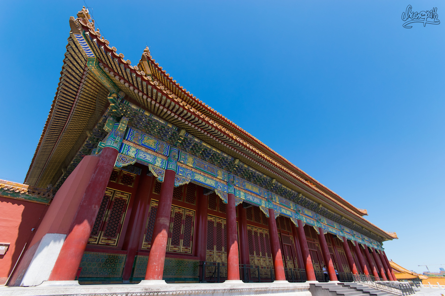 Le temple de l'harmonie suprême, dans la Cité Interdite.