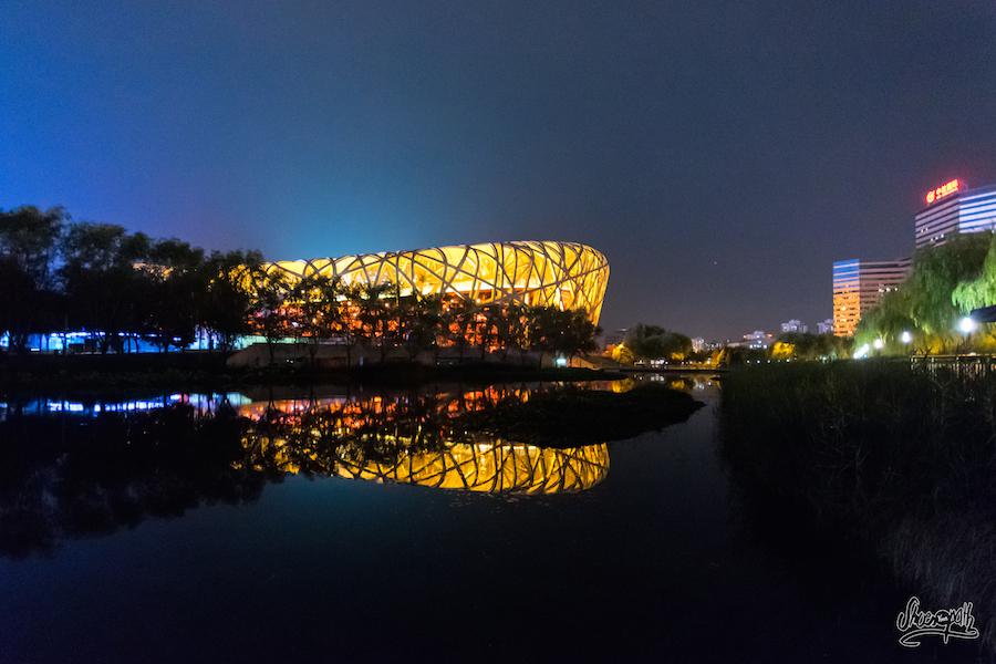 Le Stad Olympique De Pékin. Impressionnant !