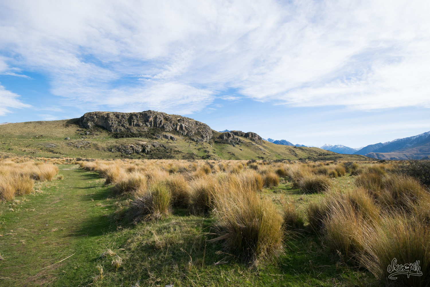 Ashburton Lakes And Mount Sunday : Edoras