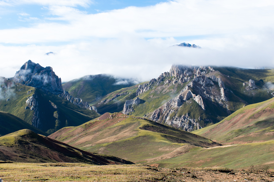 L'Himalaya s'éveille (Photo par Mariette)