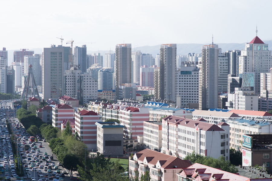 Xining, ou la jungle urbaine sans charme.