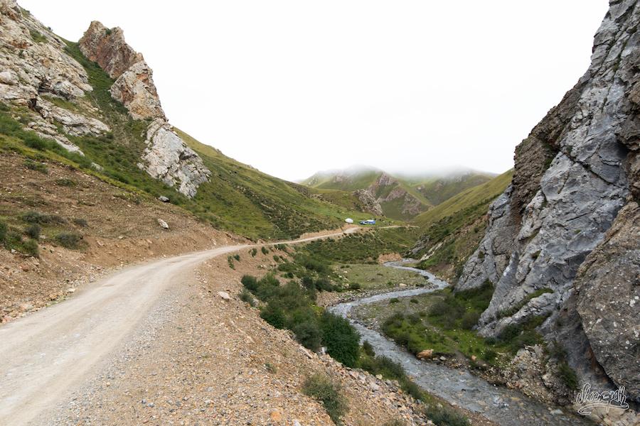 Les Premières Vallées Sur La Route De Zaxiqiwa