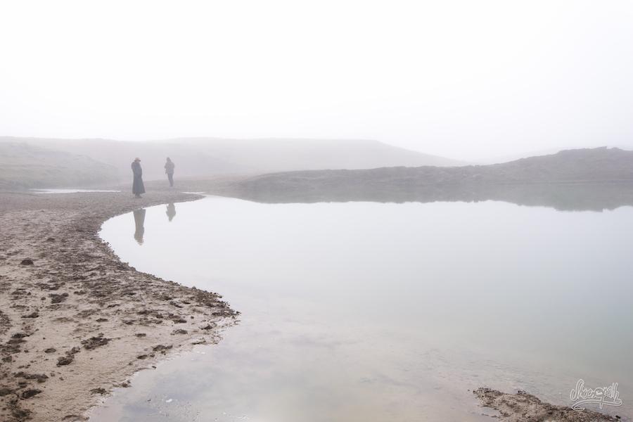 Reflets dans l'eau sacrée de Zaxiqiwa
