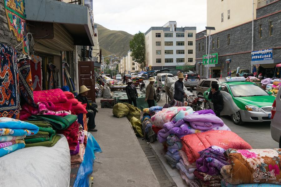 Dans le quartier musulman de Yushu