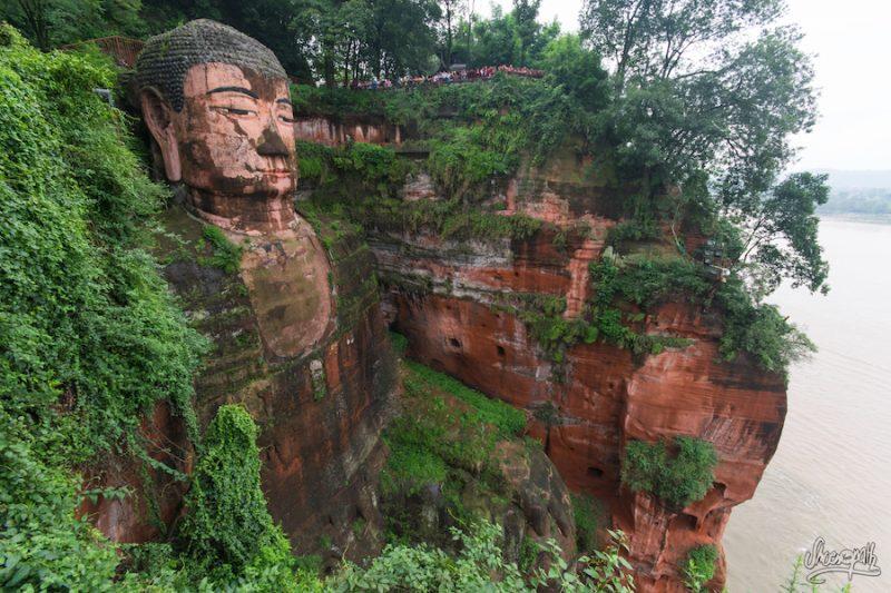 Le Grand Bouddha De Leshan
