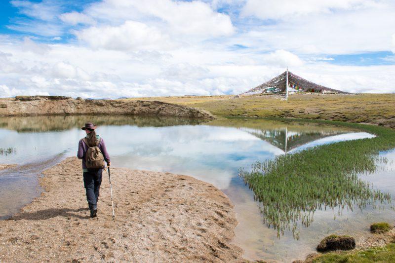 Arrivés à Zaxiqiwa, La Source Sacrée Du Mékong à 4480m Dans L'Himalaya