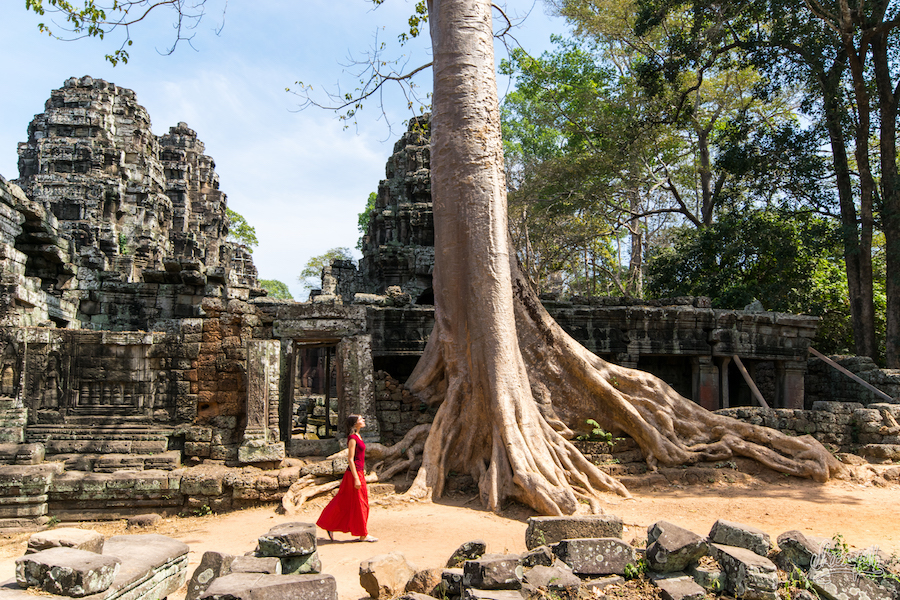 105 - Temples of Angkor, Cambodia