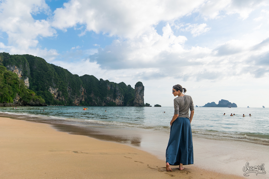 60 - Sunny afternoon on Ao Nang beach, Thailand