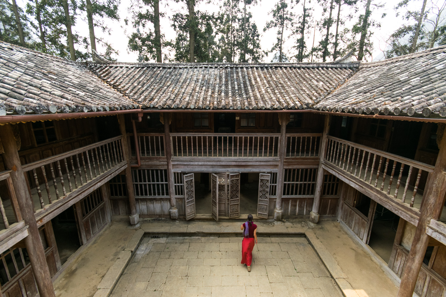 147 - In the palace of the Hmong King, Ha Giang province, north Vietnam