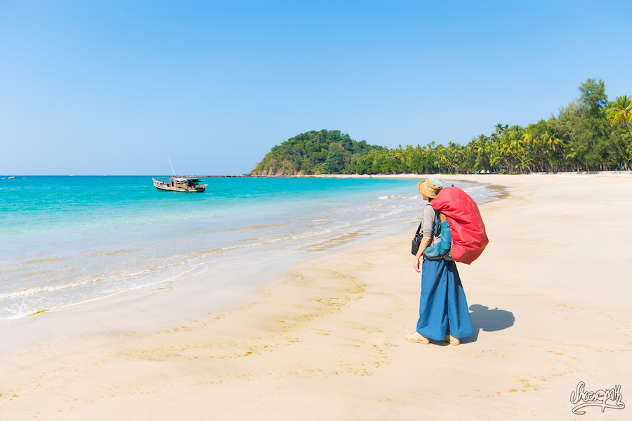 74 - On deserted Ngapali Beach, Myanmar