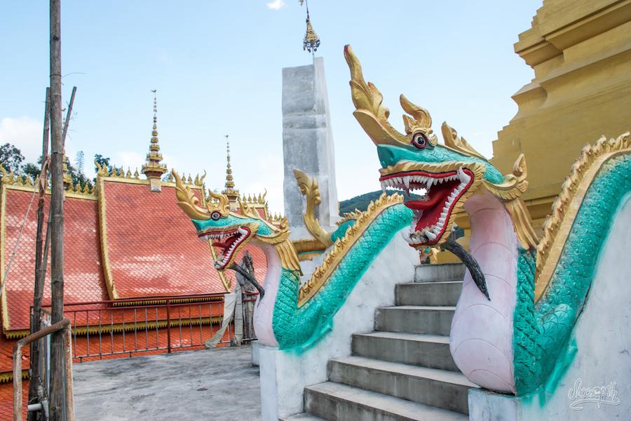 Les Dragons, Gardiens Des Temples, Stupas, Et Lieux Sacrés