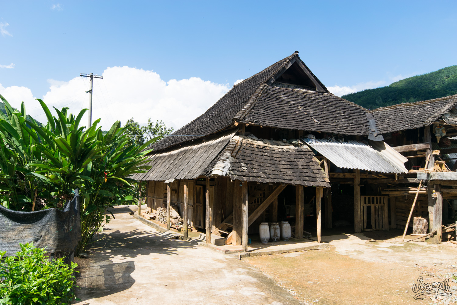 Petit village traditionnel du Xishuangbanna