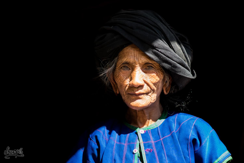 The grandma from Man Wa, real beauty of Xishuangbanna