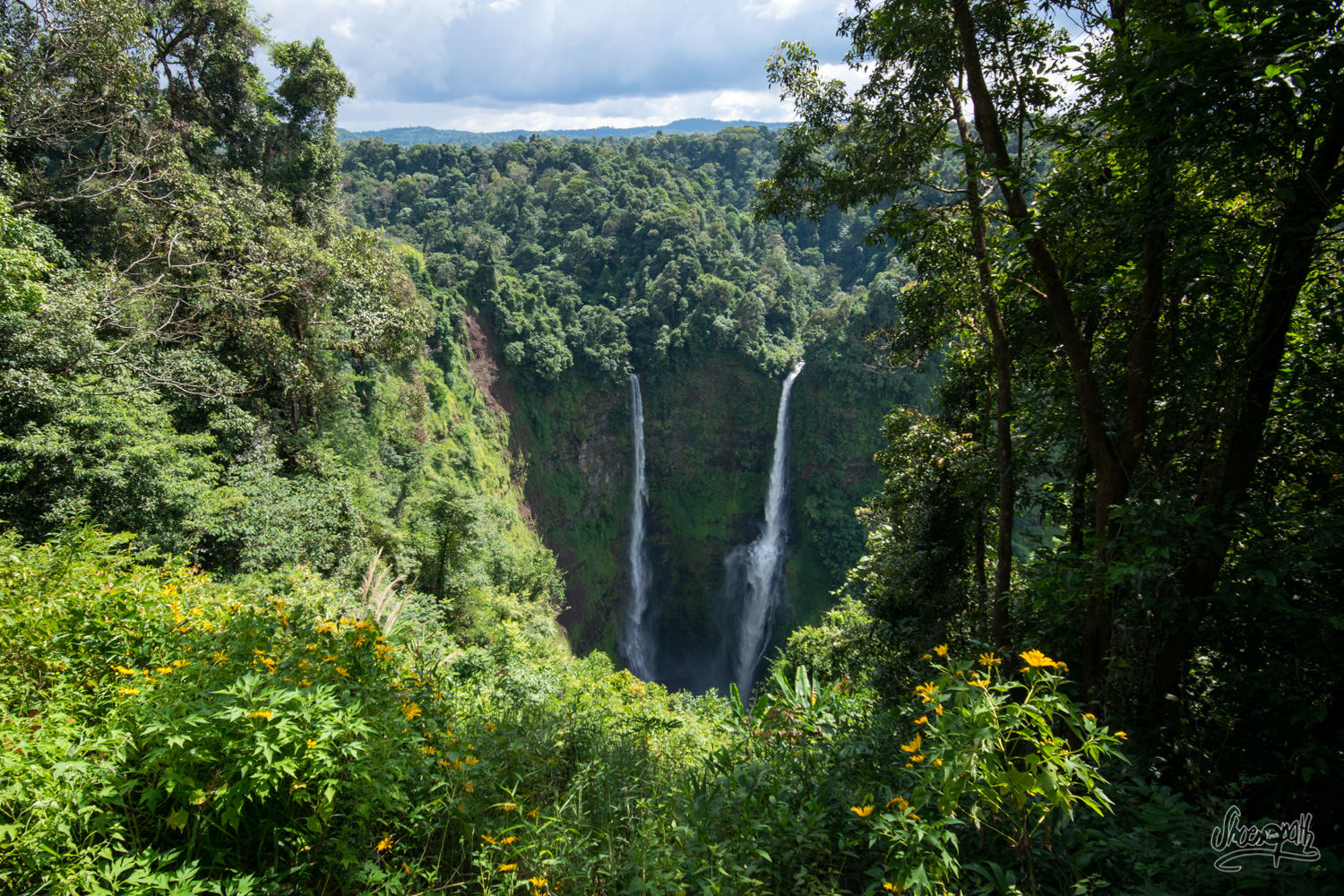 Tad Fane, the highest waterfalls in Laos