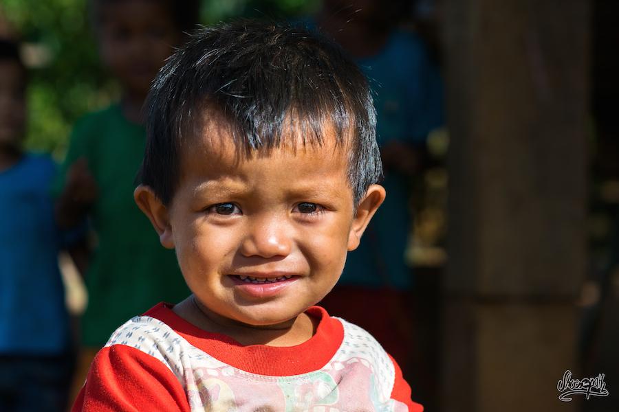 Petit Bambin Du Laos