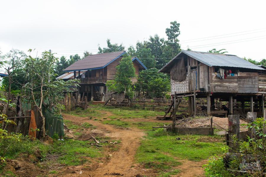 Village du plateau des Bolavens