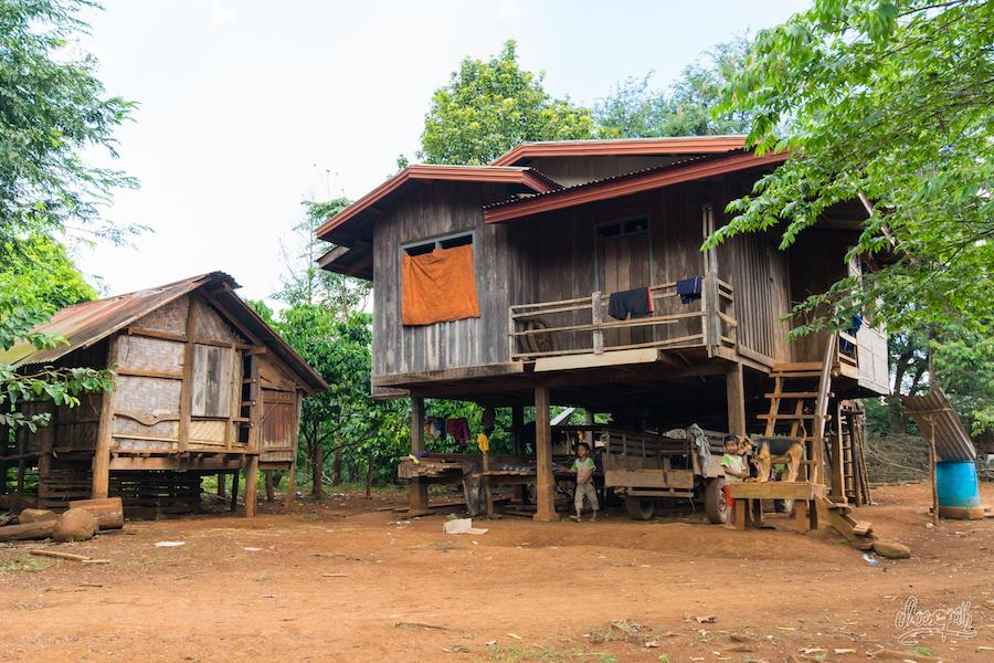 Maison Classique Laotienne
