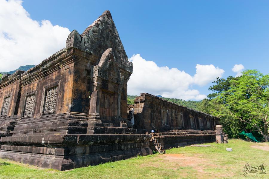 Vat Phou, Un Des Bâtiments Encore Debouts