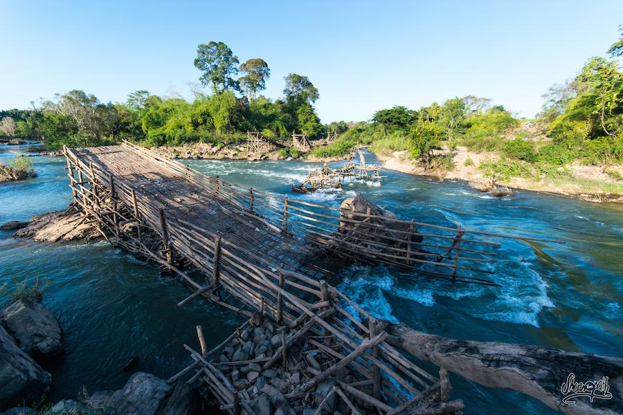 Les Fameux Pièges à Poissons Des Pêcheurs Du Mékong