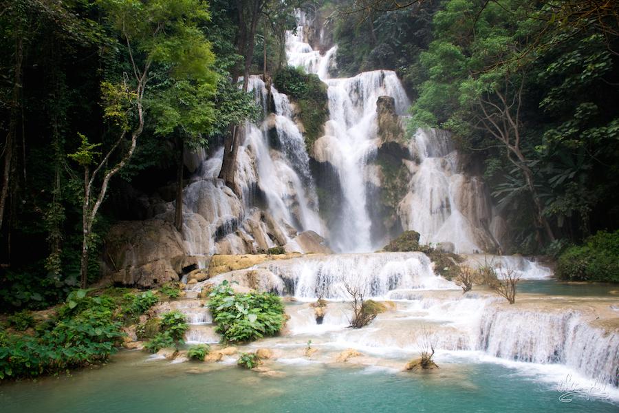 Les grandes chutes de Kuang Si, clou du spectacle !