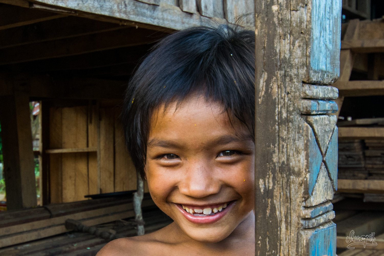 Kids, smiles, and nap : the Laos life !