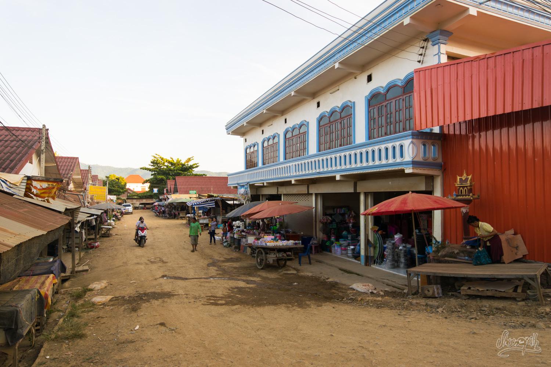 Dans les rues de Paklay…