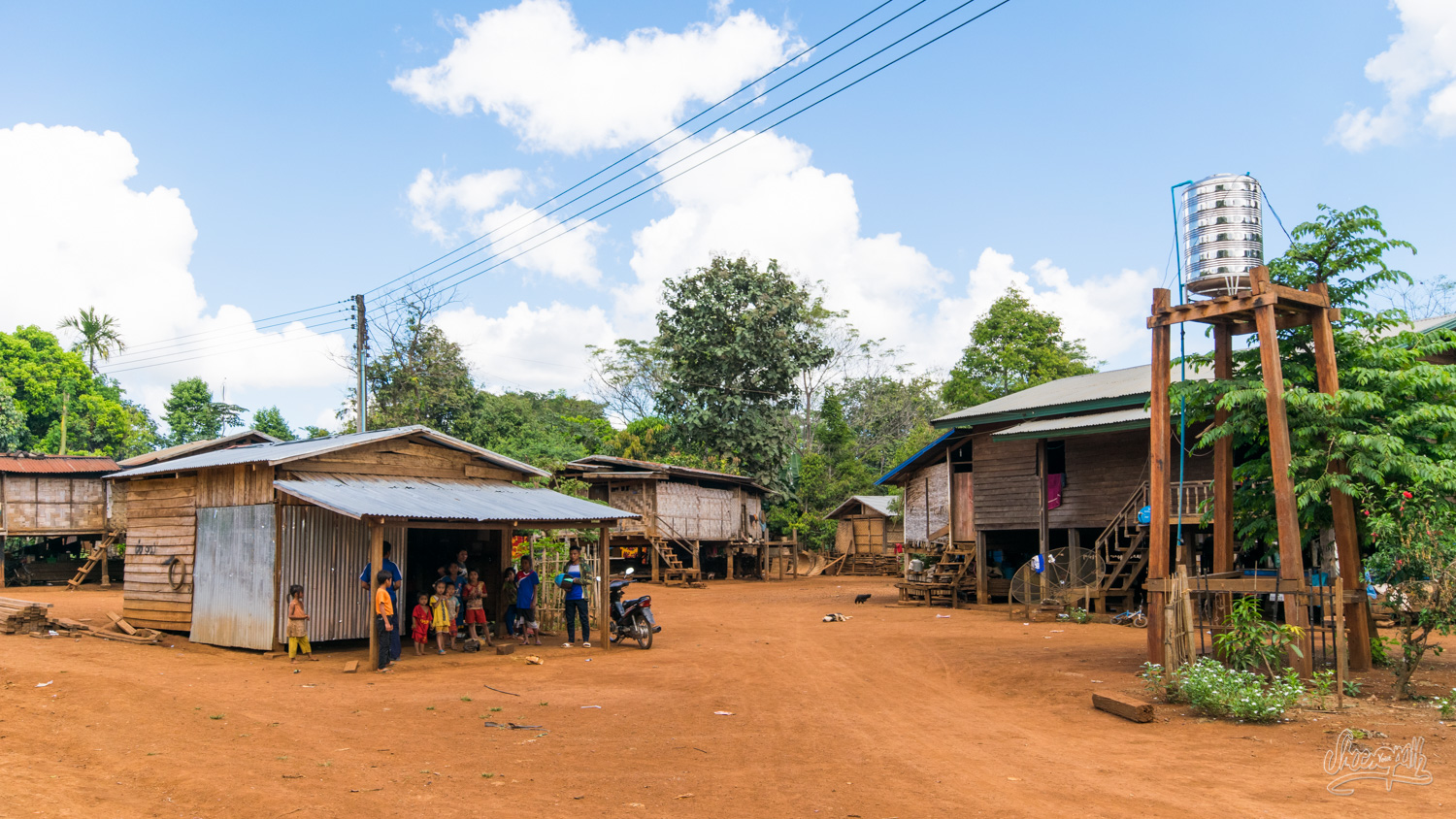 A little village on the Bolaven plateau