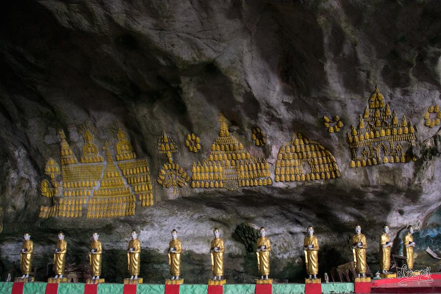 Les Bouddha de Saddar Cave