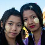 Jeunes filles au Golden Rock