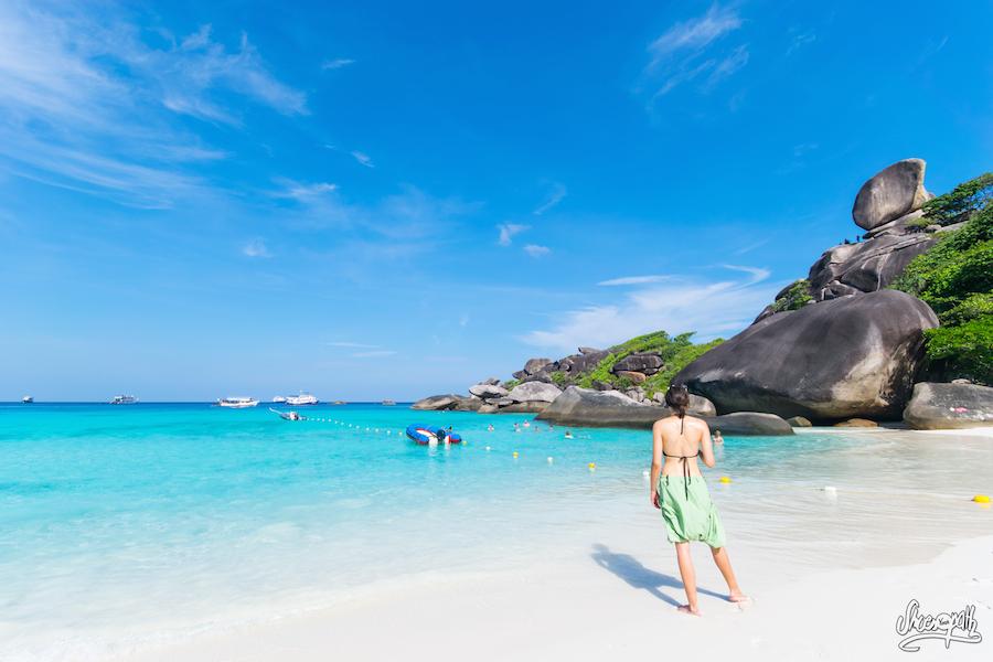 Bienvenue dans les Similan Islands : une heure à terre entre deux plongées