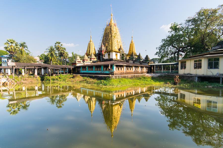 Une des pagodes de Hpa An