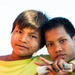 Deux jeunes lascars bien sympatiques