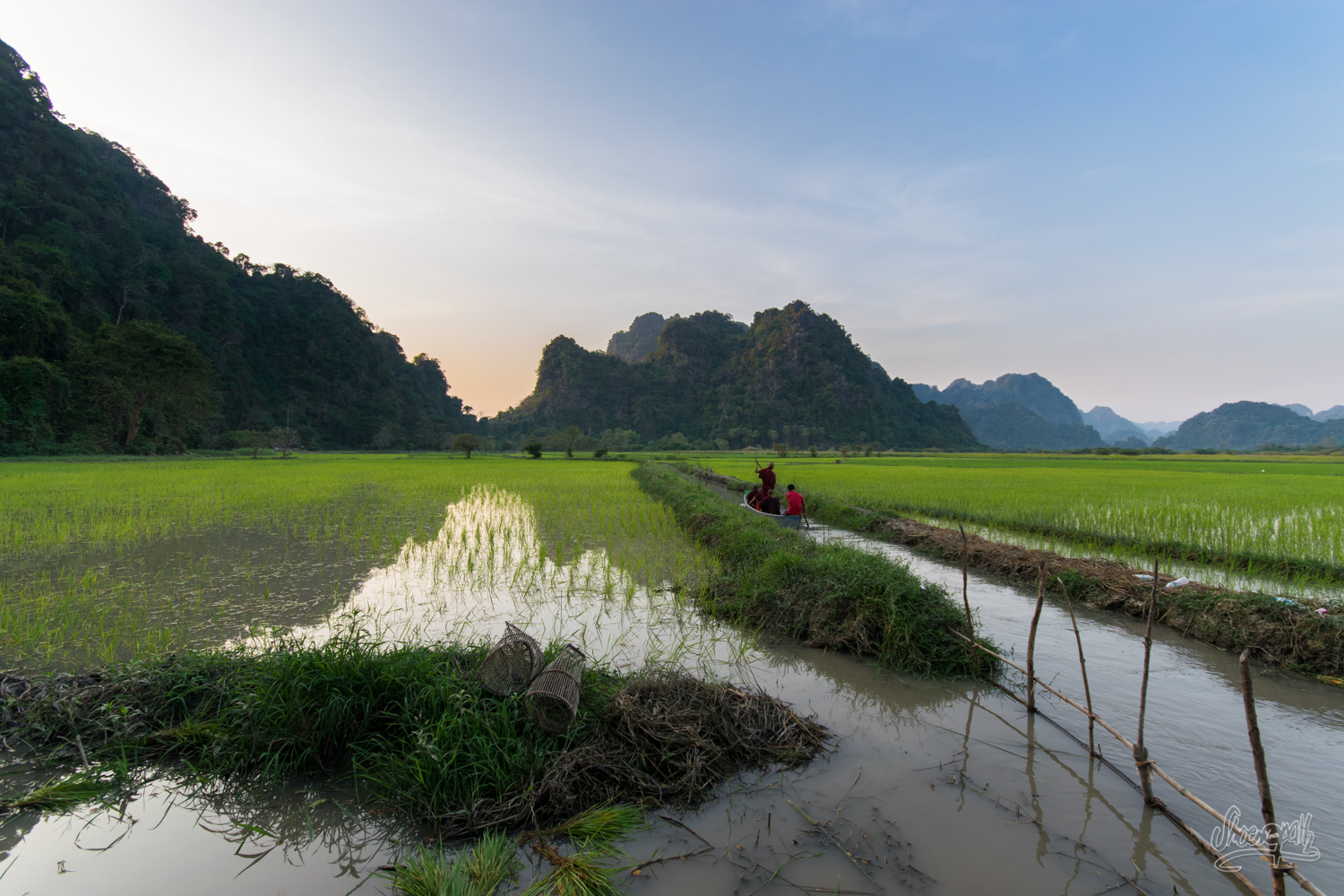 Myanmar – The South : Hpa An And The Golden Rock
