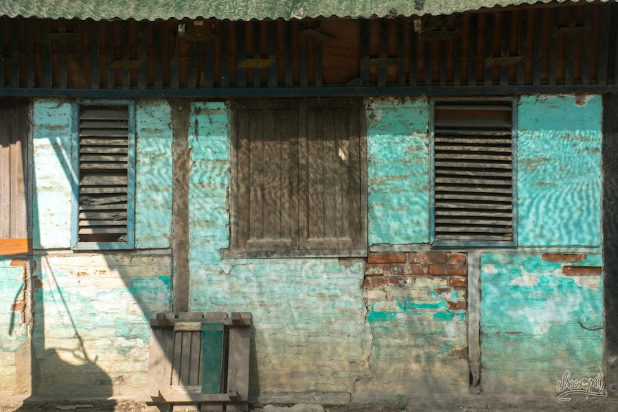 """Le mur du marché de Nyang U, le """"nouveau Bagan"""""""