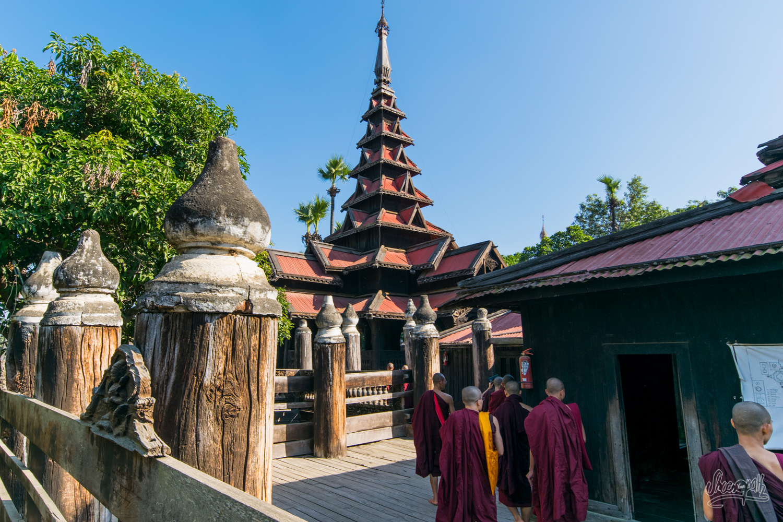 Bagaya monastery, in Inwa