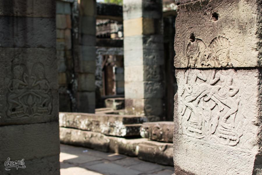 Bas Reliefs à Banteay Kdei