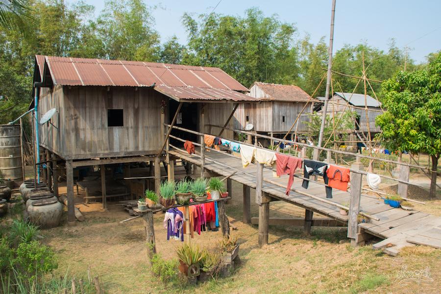 Maison Khmer typique