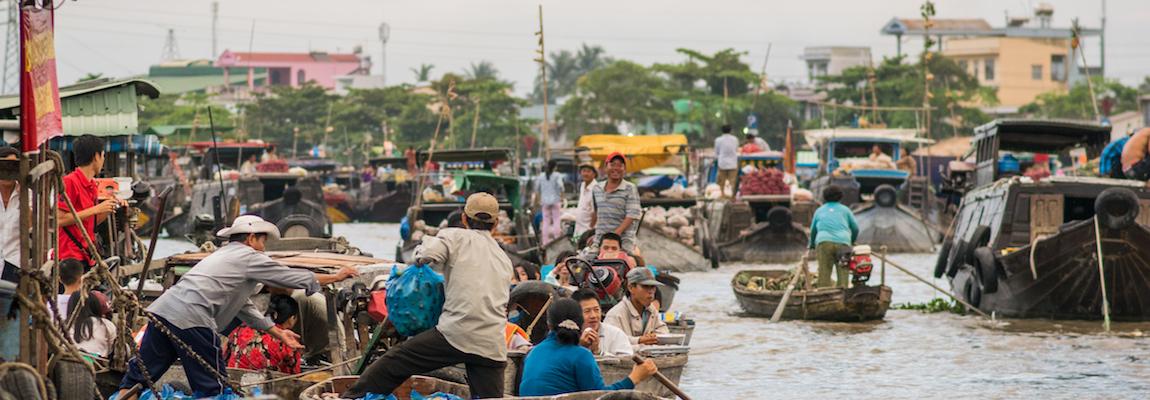 Vietnam - Le nord du delta du Mékong