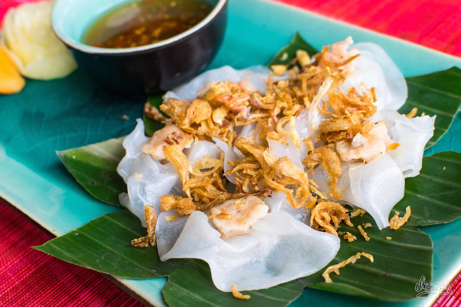 Banh bao vac (White Roses) au Enjoy Restaurant