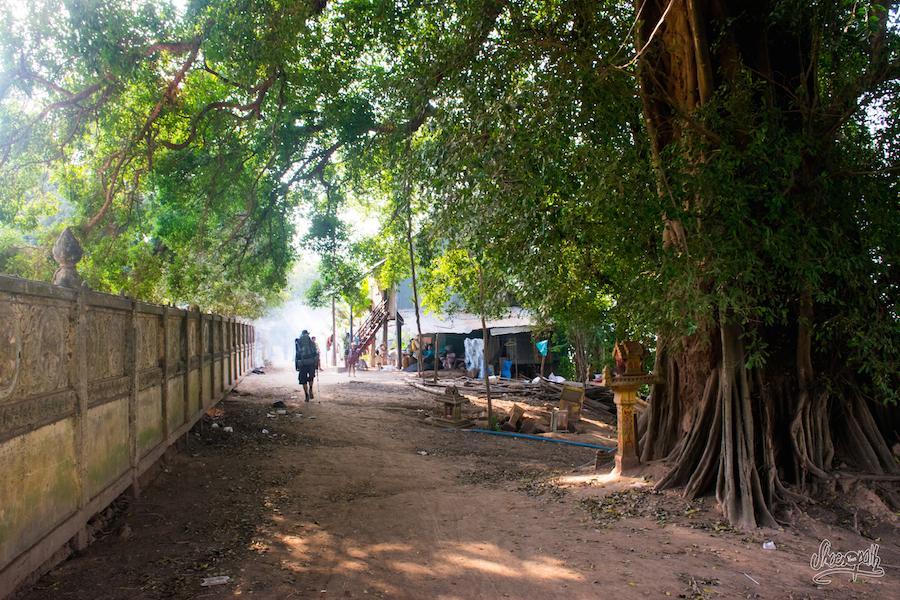 Le Long D'un Temple, Le Long Du Mékong