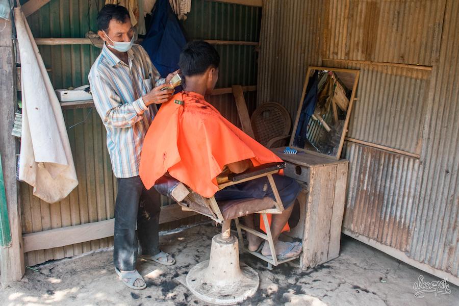 Scéance coiffeur