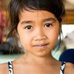 Un Dernier Sourrire Khmer Avant De Passer Au Vietnam