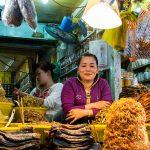 Au Marché De Chau Doc, Portrait D'une Petite Vendeuse